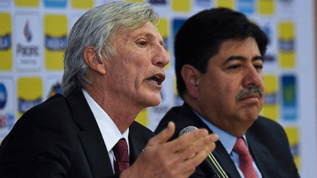 Preocupación en Colombia: DT Pekerman renunciaría tras salida del presidente de Federación