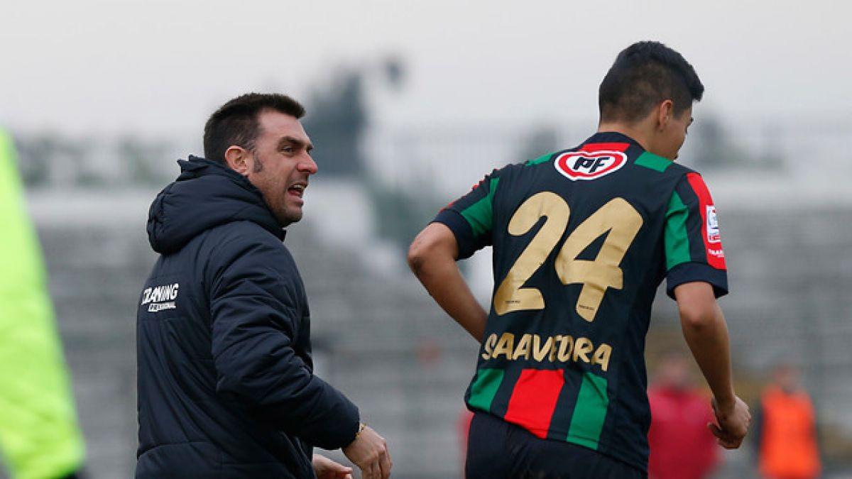 """DT de Palestino cerca de San Lorenzo: """"Ojalá lleguemos a buen puerto"""""""