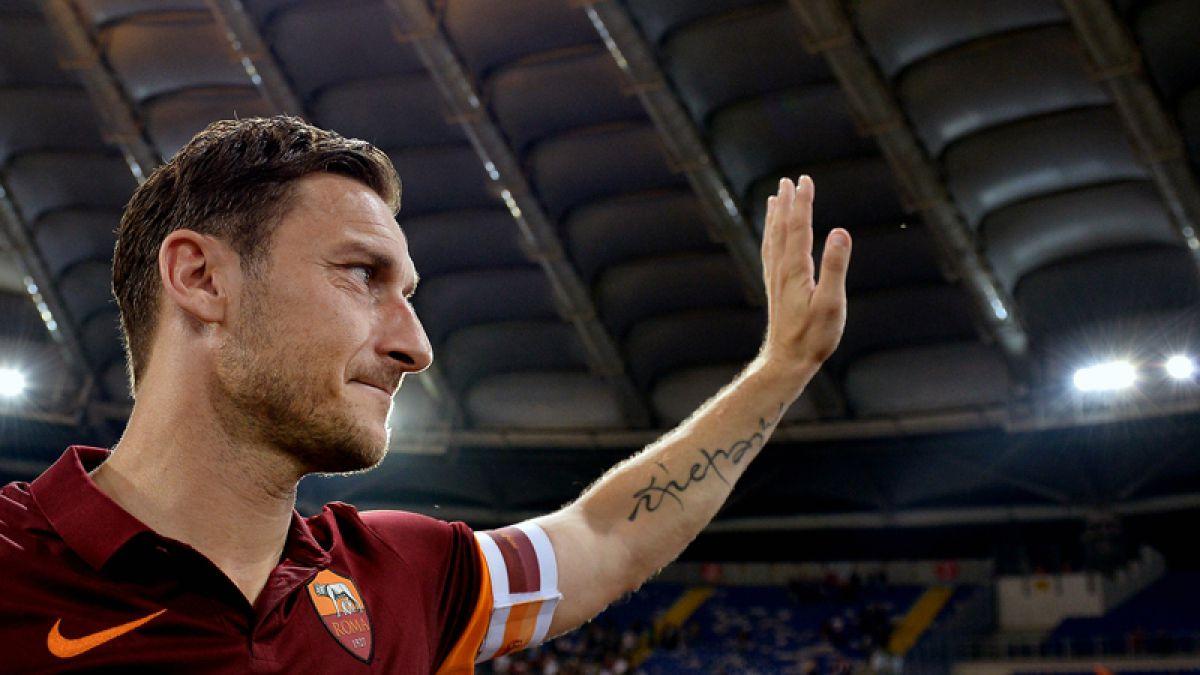 Totti pagó a la policía para impedir el secuestro de su hijo