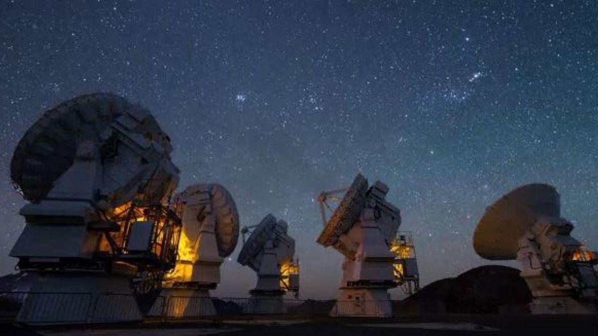 Resultado de imagen de Grandes telescopios de Tierra