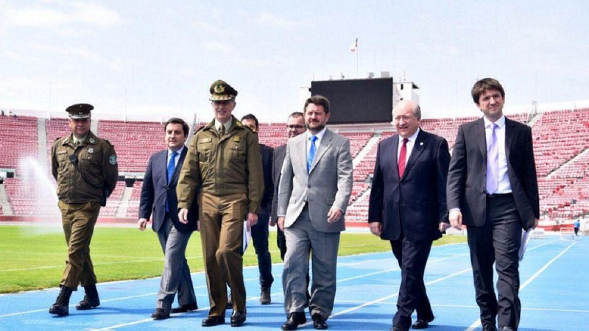 Todo listo para Chile-Colombia: Puertas del Nacional se abrirán a las 17:30 horas