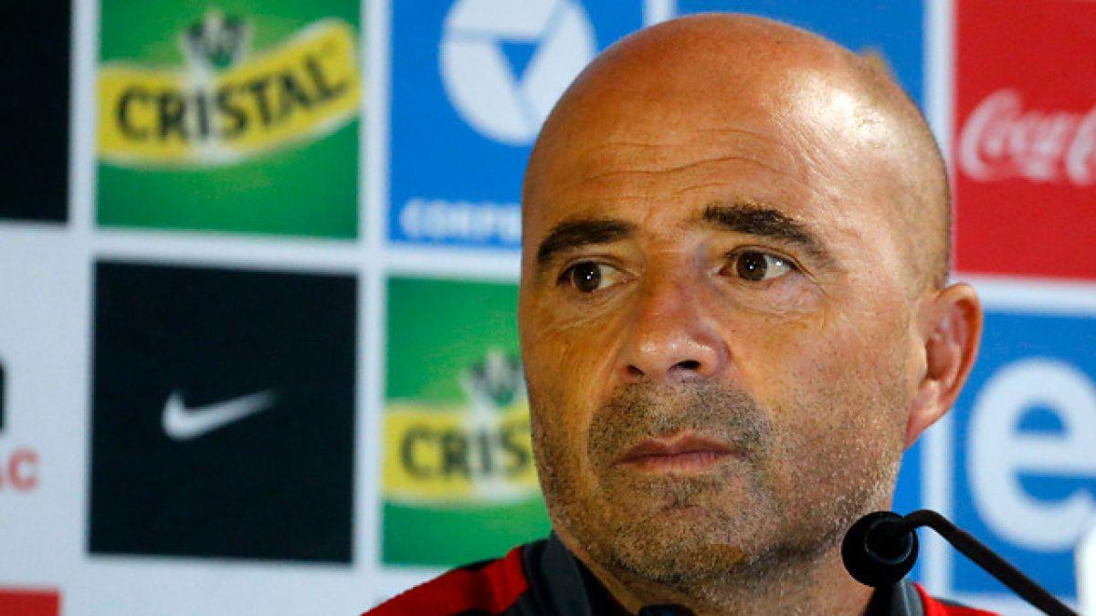 """Sampaoli y duelo con Colombia: """"Vamos a defender el Nacional como si fuera un coliseo"""""""