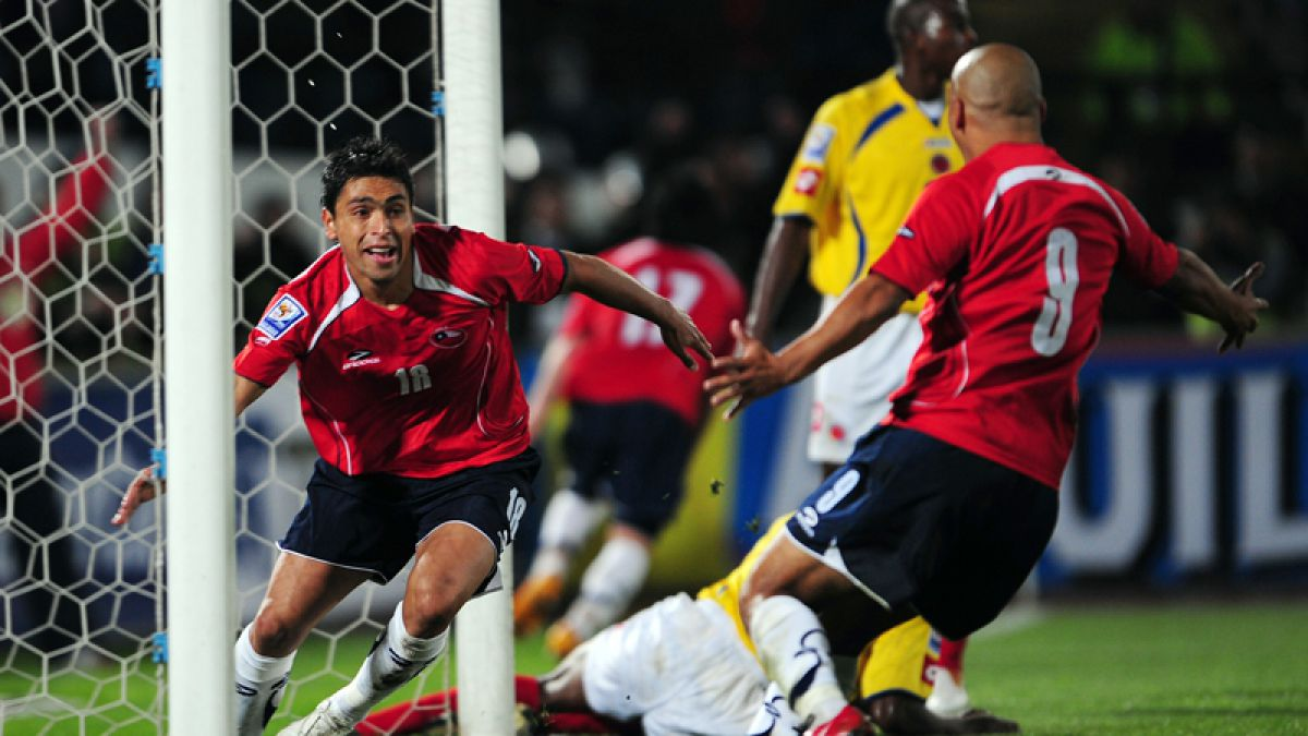 [VIDEO] Revive la espectacular goleada de Chile ante Colombia en las Clasificatorias Sudáfrica 2010