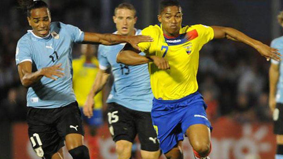 Ecuador y Uruguay van por el liderazgo de las Clasificatorias