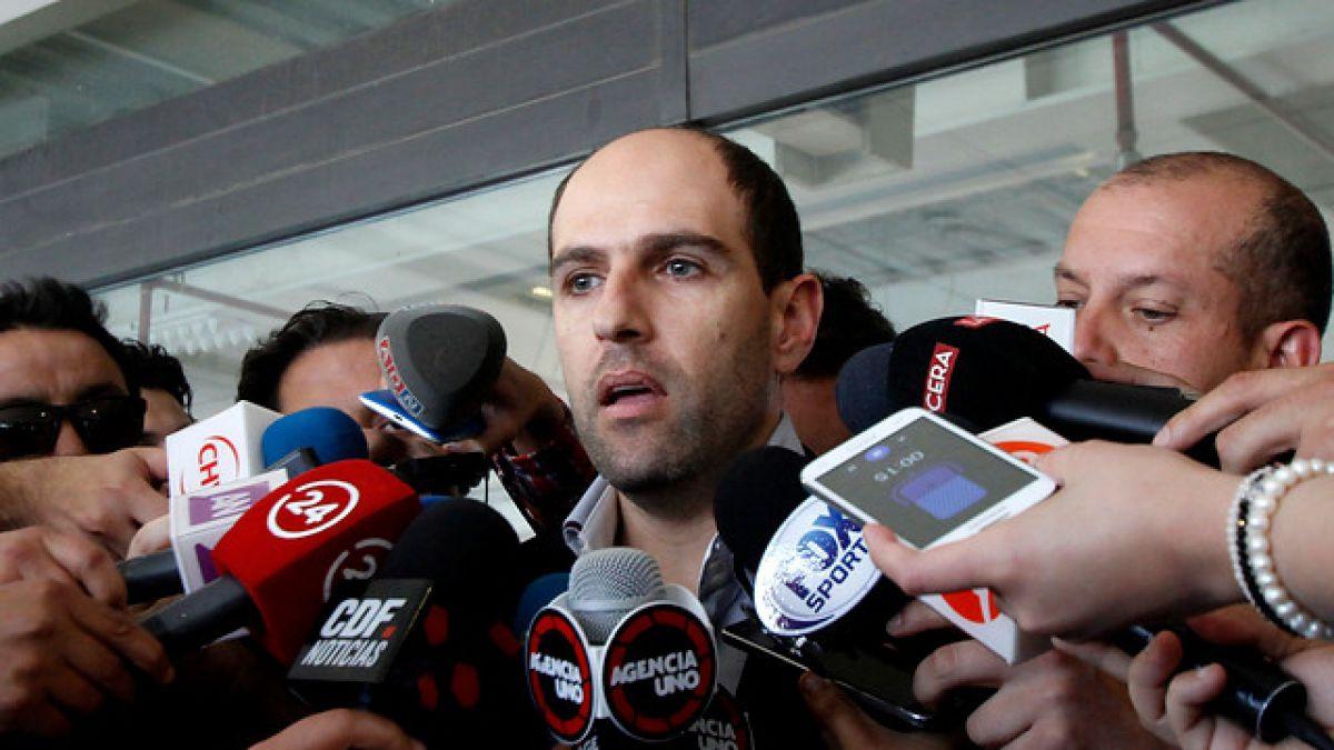 """Sergio Jadue niega renuncia a la ANFP y aclara que su viaje fue """"por motivos personales"""""""