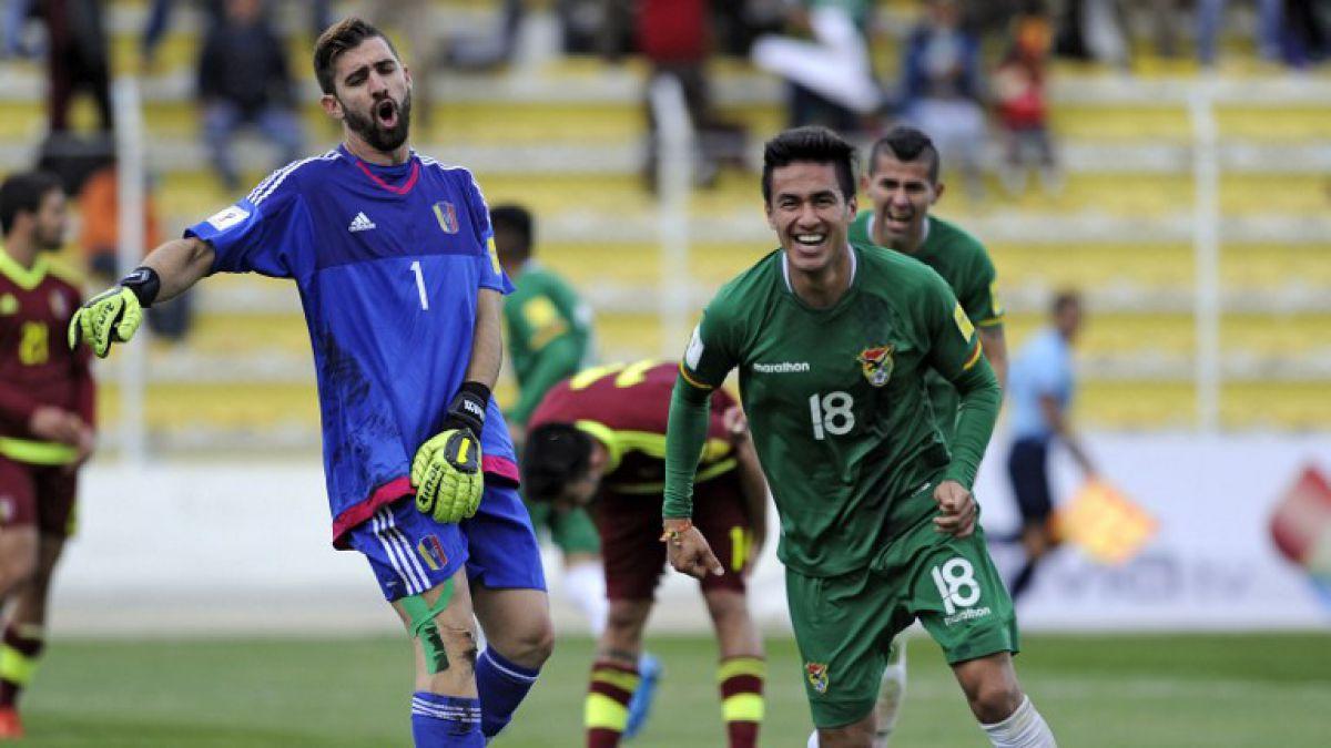 Bolivia aprovecha la altura para vencer a Venezuela y sumar su primer triunfo en Clasificatorias