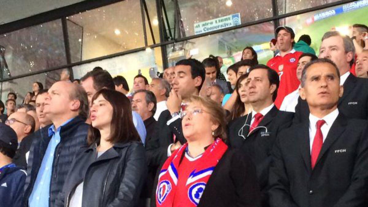 Sergio Jadue no asiste al partido entre Chile y Colombia en el Nacional
