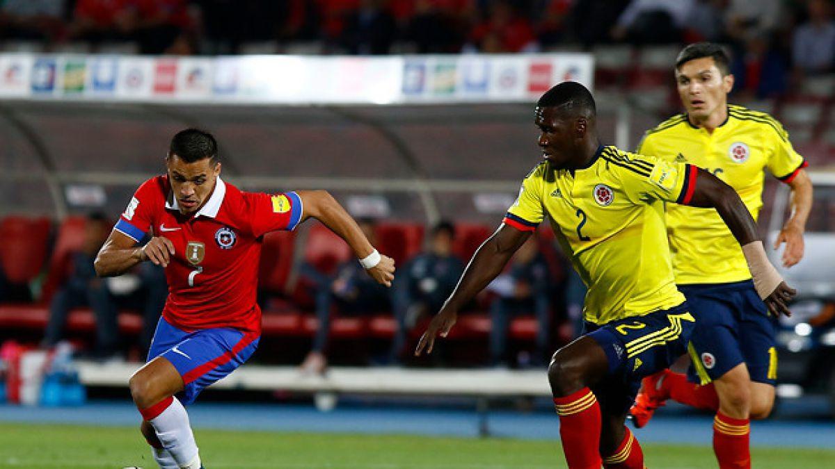 [Estadísticas] Chile buscó más que Colombia en la primera etapa