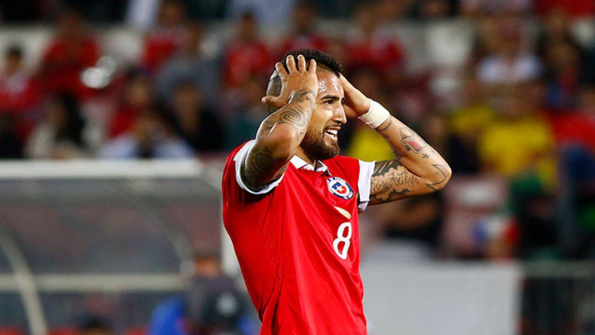 Desilusión: Chile empata ante Colombia y cede el liderato de las Clasificatorias