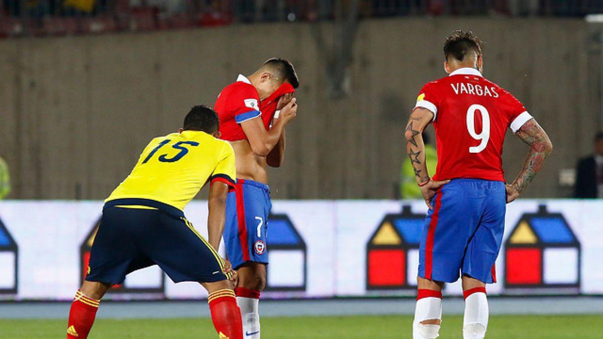 El Uno a Uno del empate entre Chile y Colombia