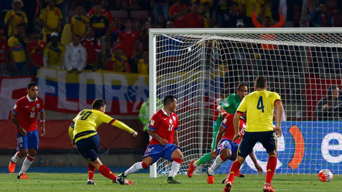 Empate de oro: Prensa colombiana destaca a Muriel y James tras partido con Chile