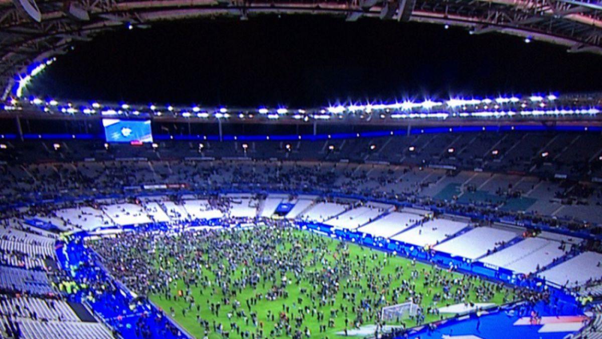 Francia vence a Alemania en amistoso marcado por graves atentados