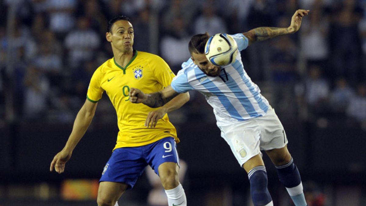 Argentina se complica tras igualar ante Brasil en el clásico sudamericano