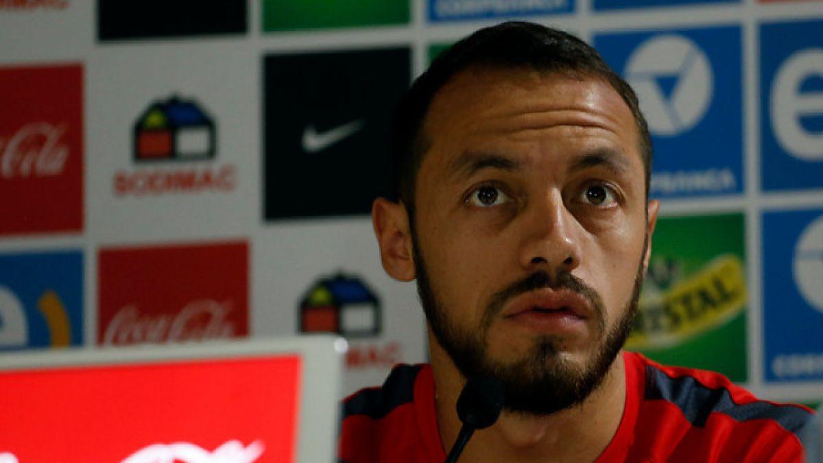 """Marcelo Díaz: """"La salida de Jadue no nos afecta. Estamos enfocados en jugar"""""""