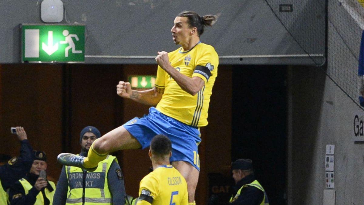 Ibrahimovic y Suecia dan el primer paso para clasificar a la Eurocopa Francia 2016