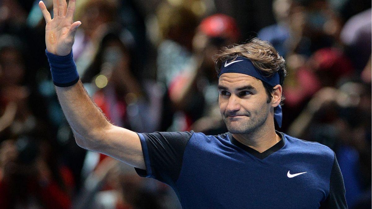 Federer debuta con un triunfo en su 14° participación consecutiva en el Torneo de Maestros