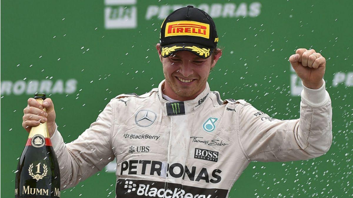 Fórmula 1: Nico Rosberg gana en Brasil y asegura subcampeonato mundial