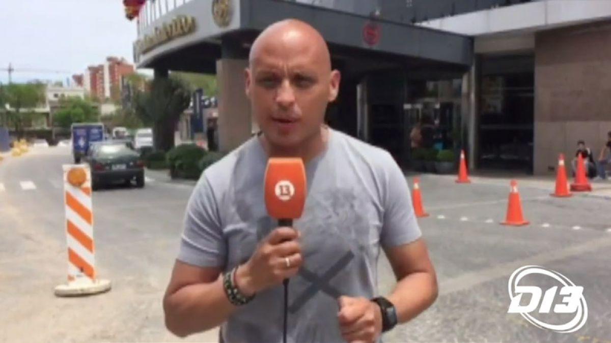 [VIDEO] ¿Le gustará a Sampaoli? Hotel Sheraton de Montevideo espera a Chile con este incómodo ruido