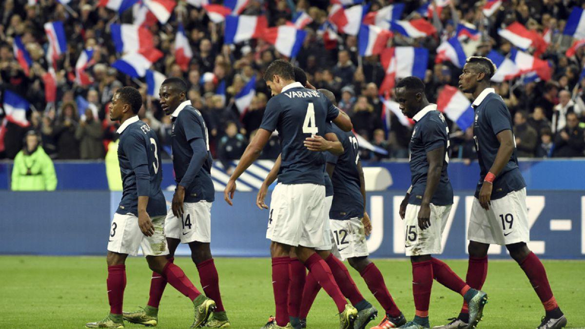 Un amistoso más que nunca: Francia decidió jugar ante Inglaterra