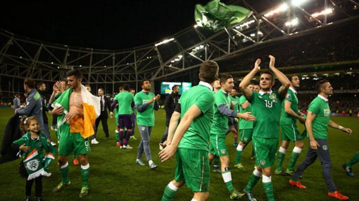 Irlanda vence y clasifica por segunda vez consecutiva a la Eurocopa