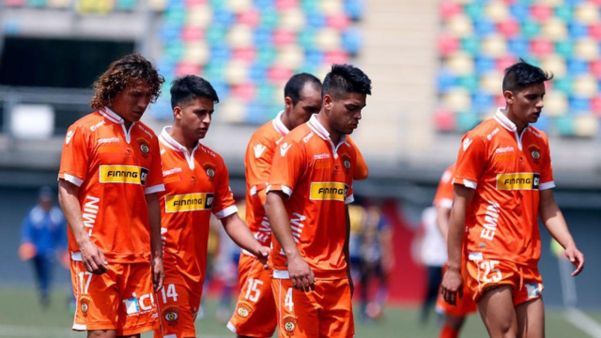 Cobreloa decide desvincular a cuatro jugadores tras acto de indisciplina