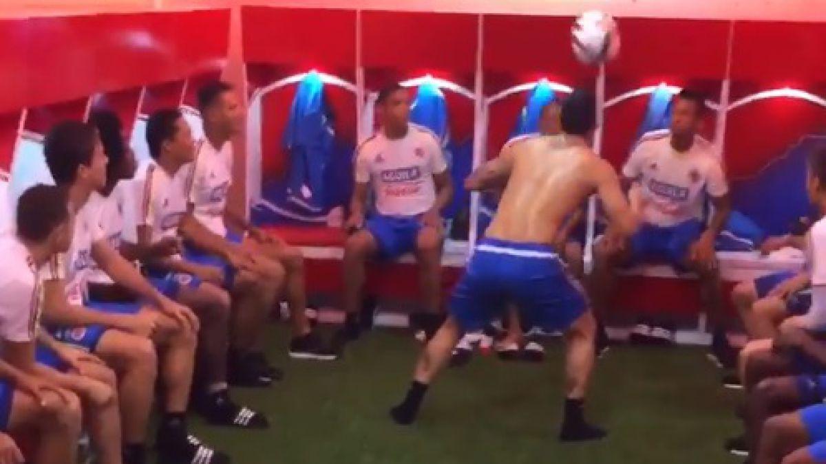 [VIDEOS] Colombia se divierte en la previa al duelo frente a Argentina
