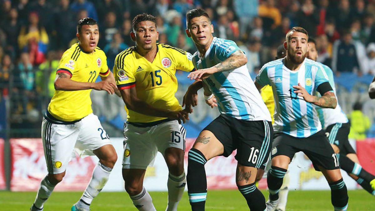 ¿Otra vez? Partido entre Colombia y Argentina podría postergarse por tormenta eléctrica
