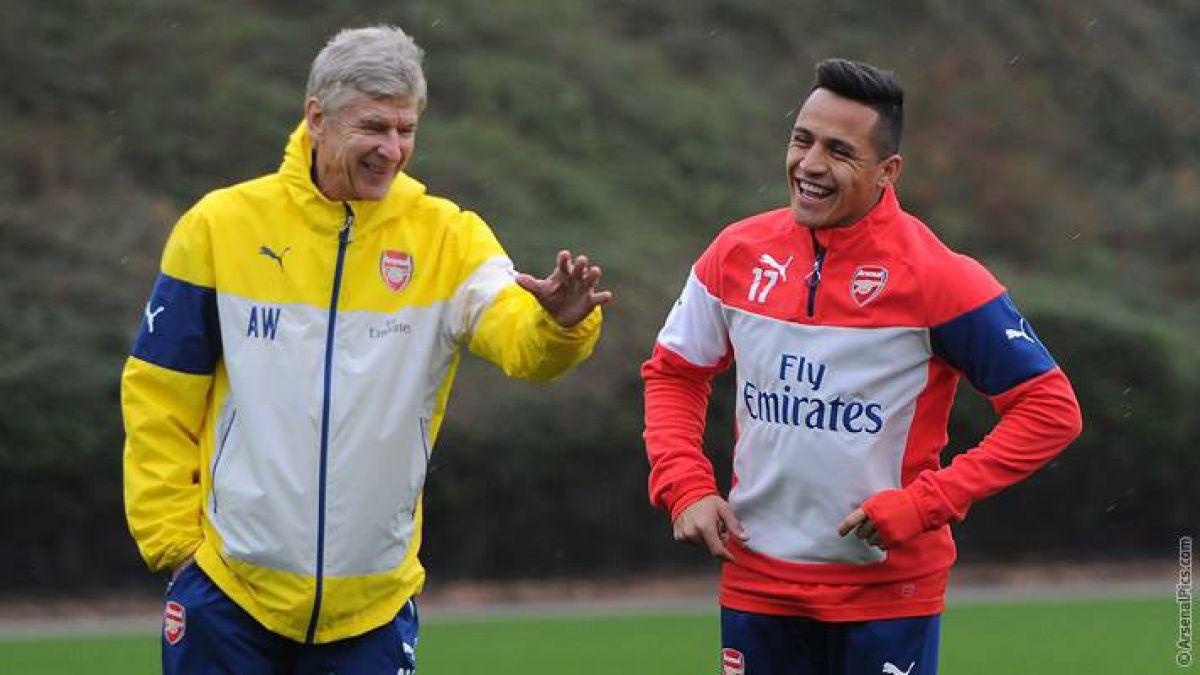 Wenger daría descanso a Alexis tras las Clasificatorias