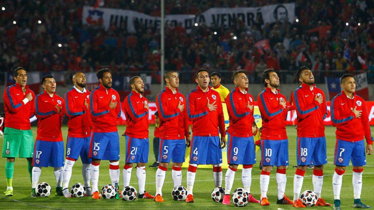 Estos son los rivales que enfrentará La Roja en la Copa América Centenario
