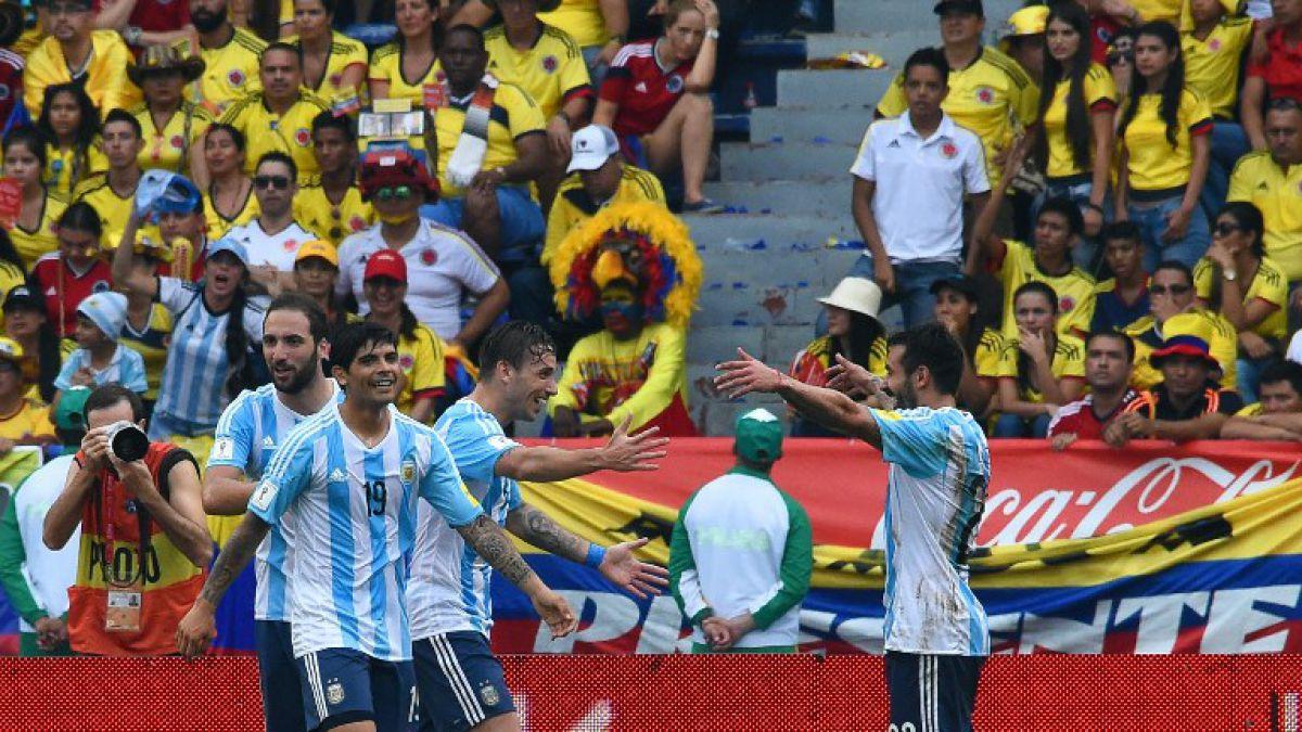 Argentina rompe mala racha al vencer a Colombia en Barranquilla