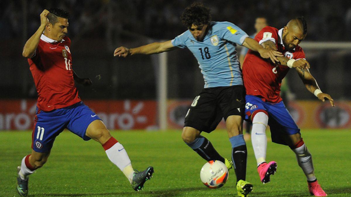 Arturo Vidal se perderá la próxima fecha de las Clasificatorias ante Argentina