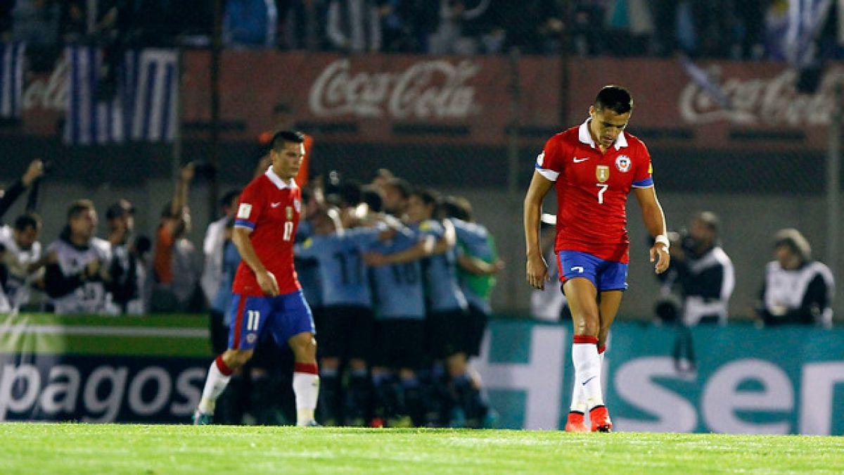 Se acaba el invicto: Chile sufre dura caída ante Uruguay en el Centenario