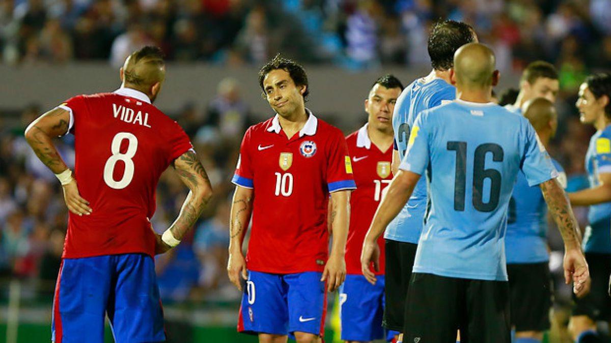 """La """"Roja"""" pierde a Vidal y a Valdivia para el próximo partido de Clasificatorias ante Argentina"""