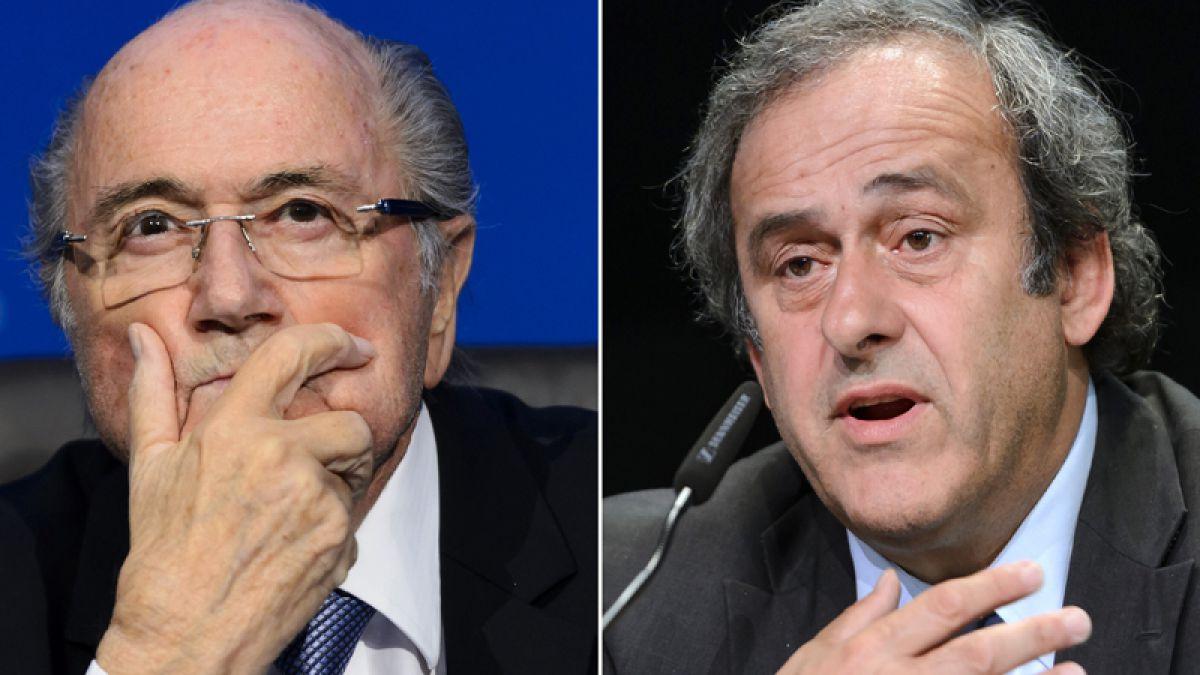 FIFA rechaza las apelaciones de Blatter y Platini