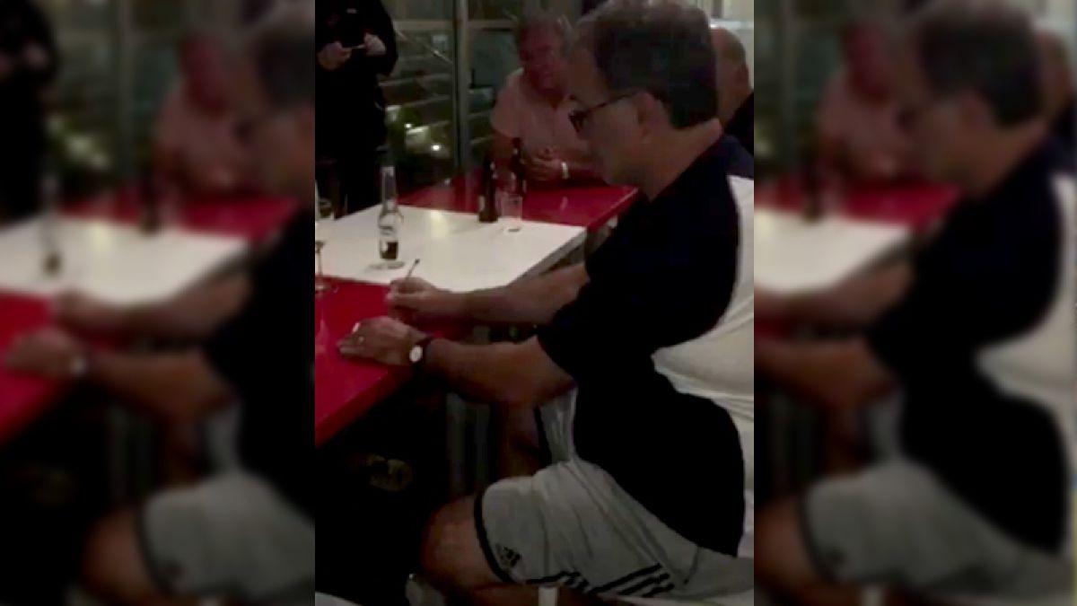 [VIDEO] Así fue el análisis de Marcelo Bielsa del partido Uruguay-Chile