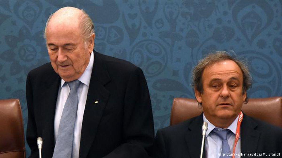 Comité de Apelación rechaza los recursos de Blatter y Platini