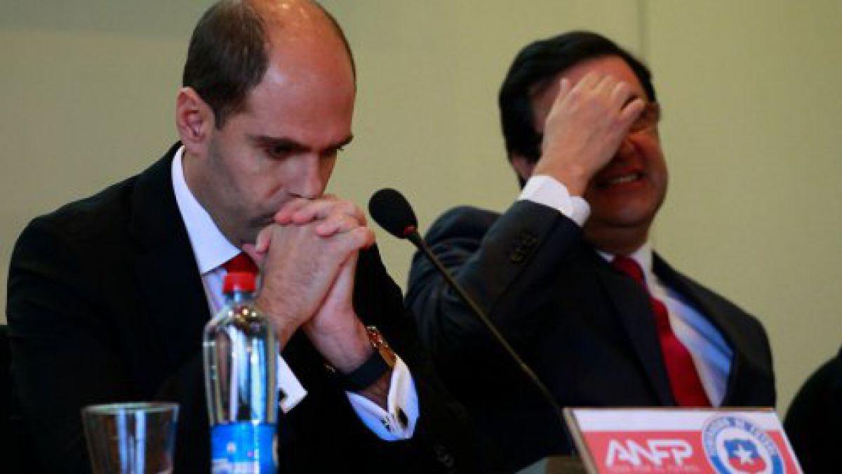 ANFP presenta querella contra Sergio Jadue y Sampaoli podría ser citado a declarar