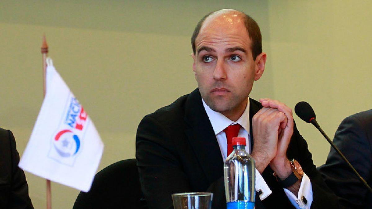 Sergio Jadue deja definitivamente la presidencia de la ANFP