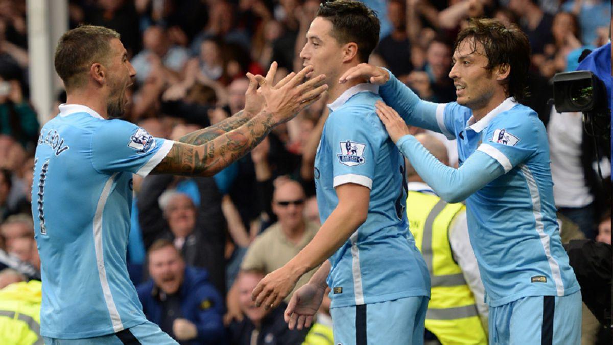 Otra baja para Pellegrini: Manchester City pierde a volante por tres meses