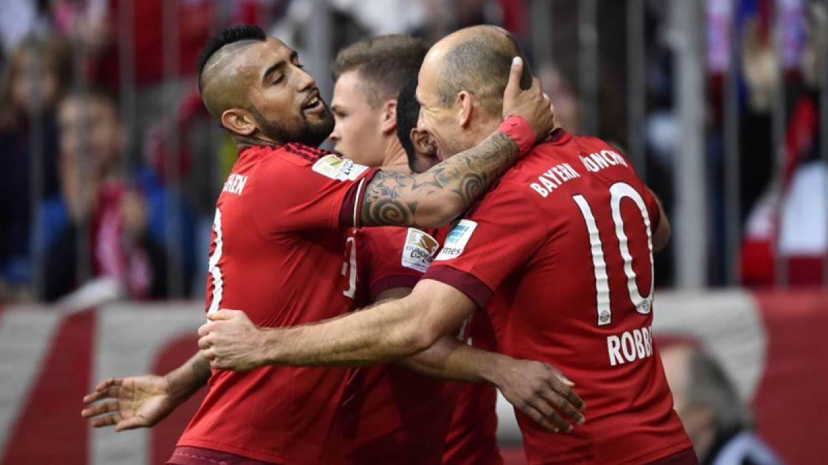 Bayern Munich de Arturo Vidal refuerza sus medidas de seguridad tras los atentados en Francia
