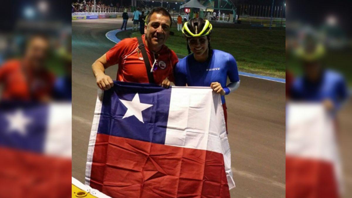 [VIDEO] ¡Medalla para Chile! La patinadora María José Moya gana en la final y es campeona mundial