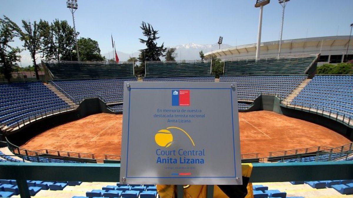 Oficializan nombre Anita Lizana para el Court Central del Estadio Nacional