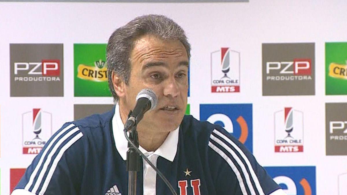 """Martín Lasarte: """"Somos un equipo que está sufriendo este semestre"""""""
