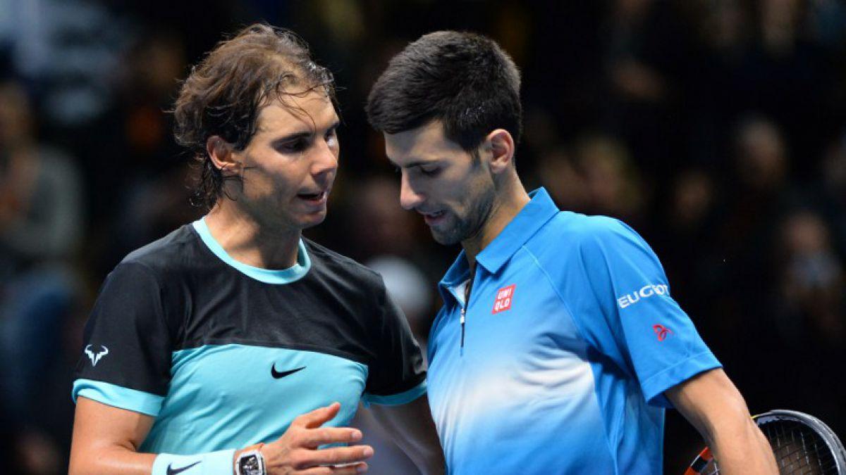 Djokovic vence a Nadal y va por récord en la final del Masters de Londres