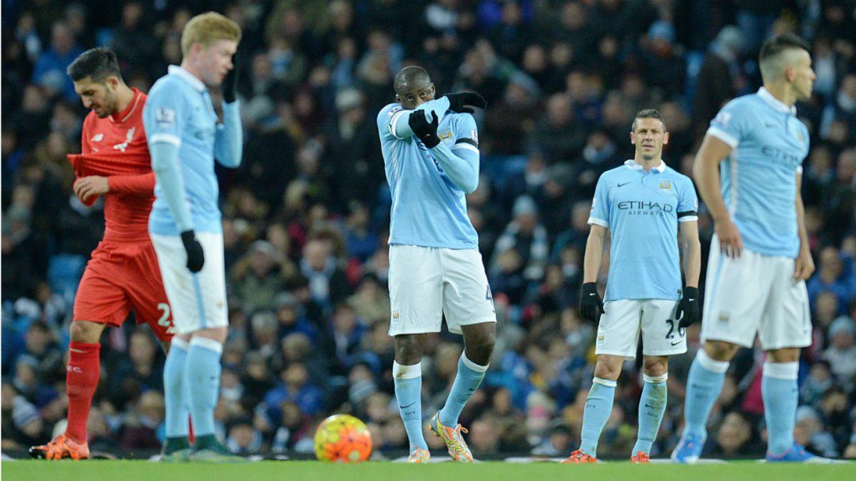 Manchester City de Pellegrini cae ante Liverpool y pierde liderato de la Premier