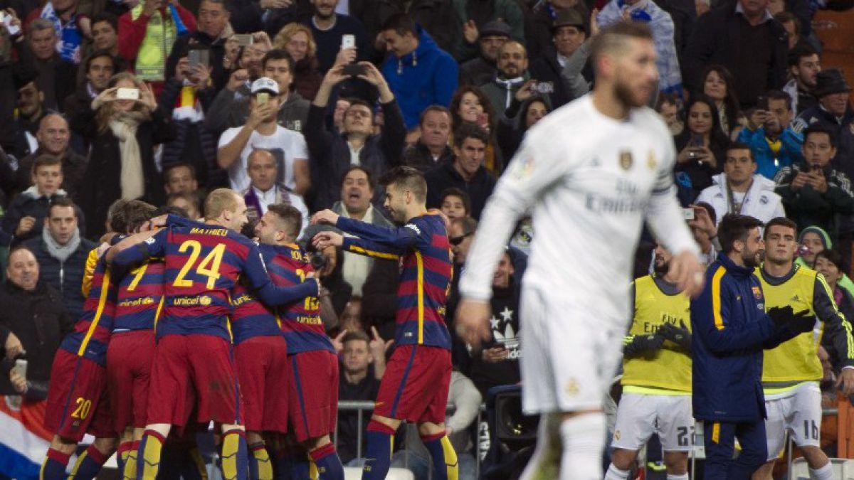 Con gran actuación de Claudio Bravo el Barcelona apabulla al Real Madrid