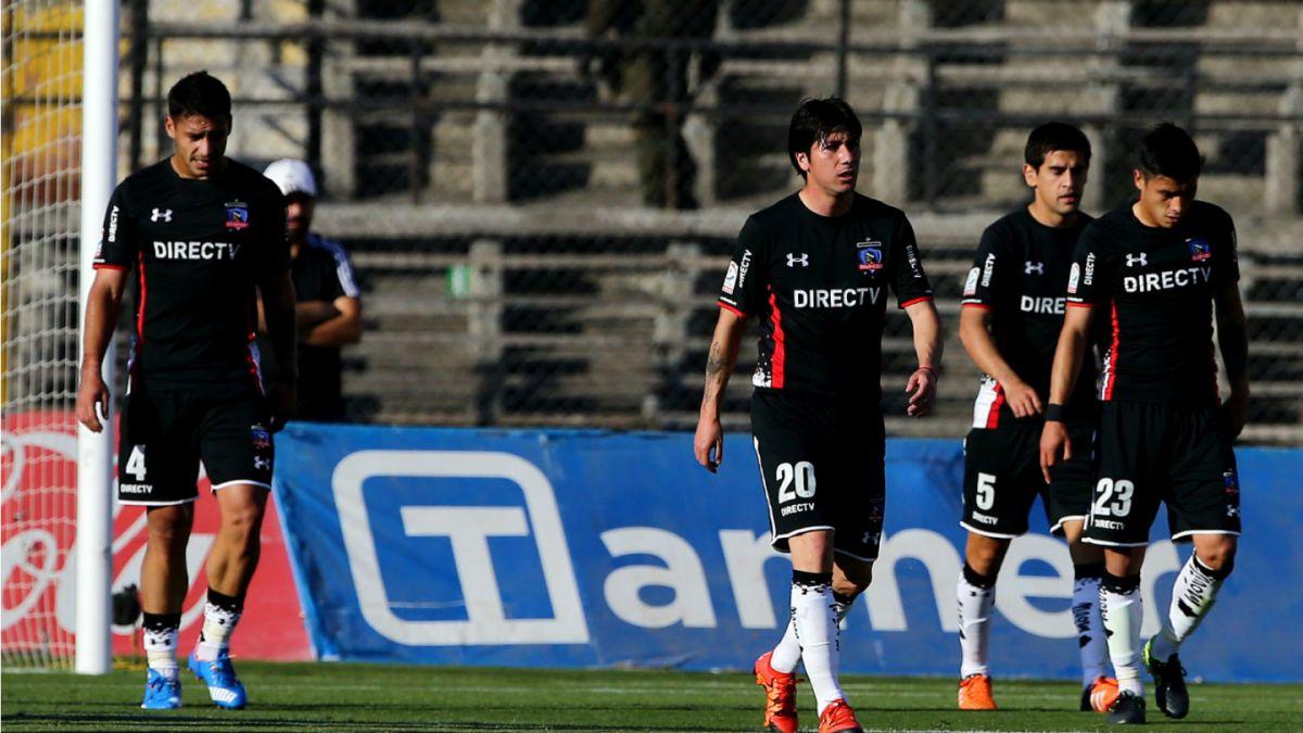 Colo Colo pierde con Palestino y pone en peligro su liderato en el Apertura