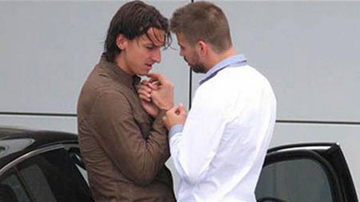 Piqué revela la historia detrás de famosa foto junto a Zlatan Ibrahimovic