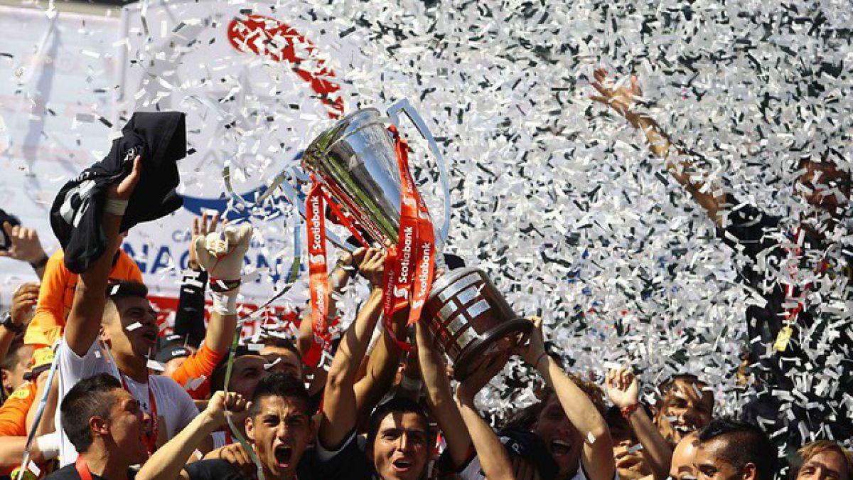 Trofeo del Apertura estará este domingo en el Monumental por si Colo Colo sale campeón