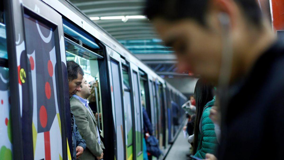 Estaciones de Líneas 2 y 5 del Metro de Santiago cambian de color de Ruta Expresa por futura Línea 6